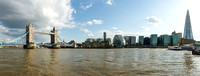 Panoramic Tower Bridge, City Hall, The Shard